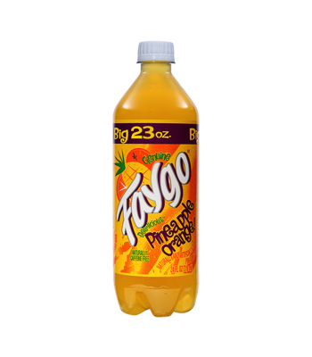 Faygo Pineapple Orange - 23fl.oz (680ml) Soda and Drinks