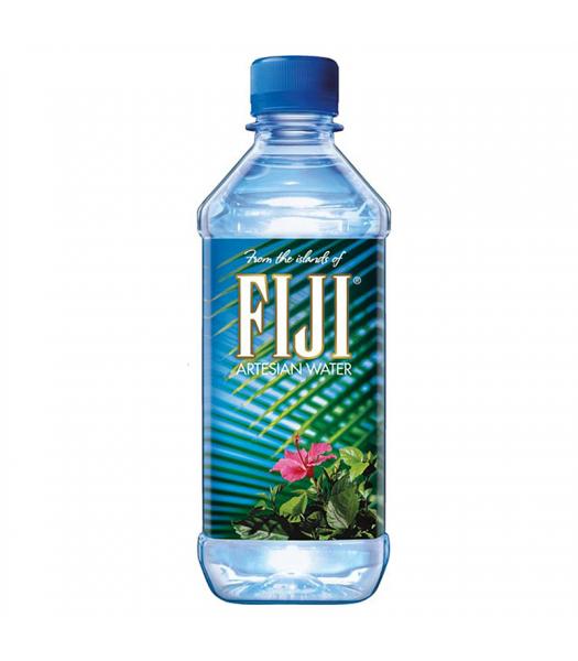 Fiji Natural Artesian Water 16 9 Fl Oz Pack Of 24 Bottles: FIJI Natural Artesian Bottled Water 1.05pt (500ml