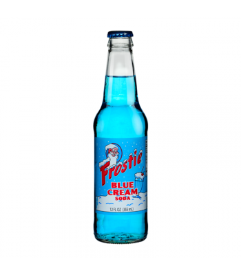 Frostie Blue Cream Soda 12fl.oz (355ml) Soda and Drinks Frostie