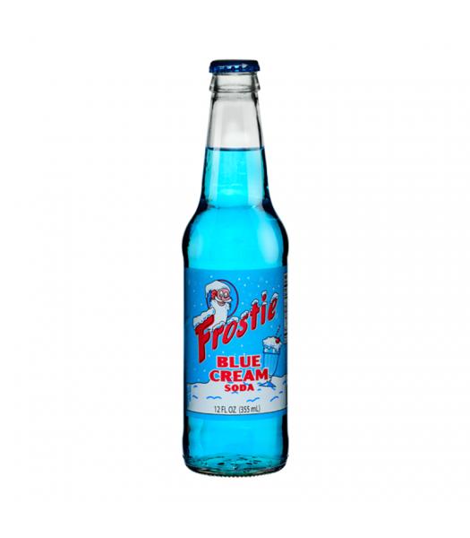 Frostie Blue Cream Soda 12fl.oz (355ml) Soda and Drinks Frostie