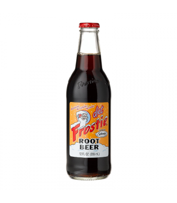 Frostie Diet Root Beer 12fl.oz (355ml) Soda and Drinks Frostie