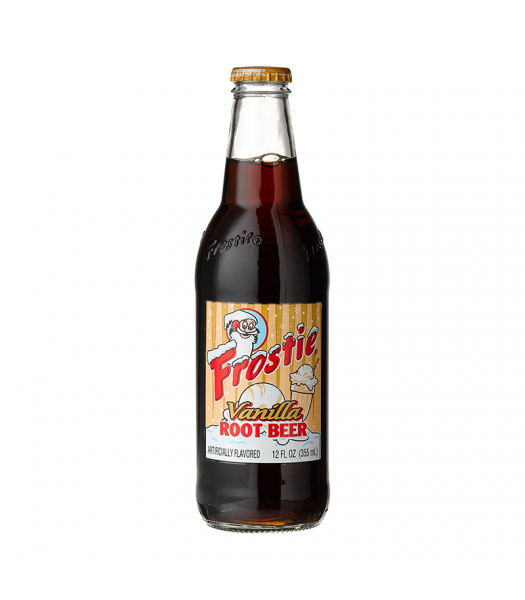 Frostie Vanilla Float Root Beer 12fl.oz (355ml) Soda and Drinks Frostie
