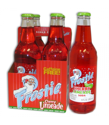 Frostie Cherry Limeade 12fl.oz (355ml) - 4 Pack Regular Soda Frostie