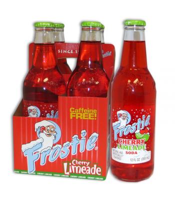 Frostie Cherry Limeade 12fl.oz (355ml) - 4 Pack