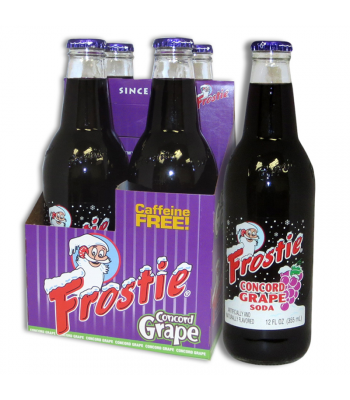 Frostie Concord Grape Soda 12fl.oz (355ml) - 4 Pack
