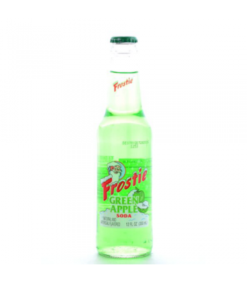 Clearance Special - Frostie Soda - Green Apple 355ml **Best Before: July 17** Clearance Zone
