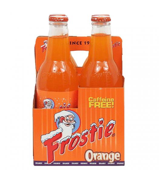 Frostie Orange Soda 12fl.oz (355ml) - 4 Pack Soda and Drinks Frostie