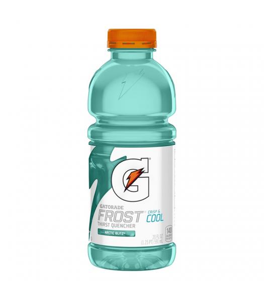 Gatorade Frost Arctic Blitz 20fl.oz (591ml) Soda and Drinks Gatorade
