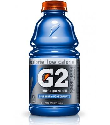 Gatorade G2 Low Calorie Blueberry - Pomegranate 32oz (946ml) Bottle