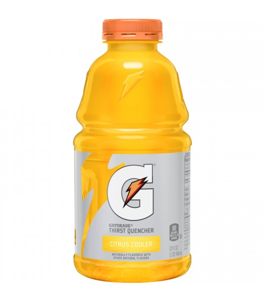 Gatorade Citrus Cooler 32oz (946ml) Soda and Drinks Gatorade