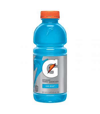 Gatorade Cool Blue 20oz (591ml)  Energy & Sports Drinks Gatorade