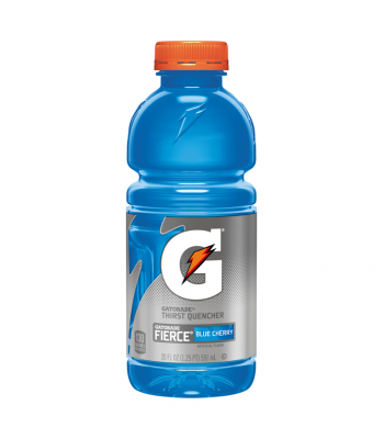 Gatorade Fierce Blue Cherry 20oz (591ml) Energy & Sports Drinks Gatorade