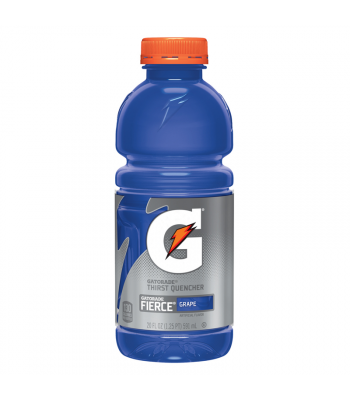 Clearance Special - Gatorade Fierce Grape 20oz (591ml) **Best Before: 18th Feb 2019 ** Clearance Zone