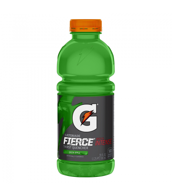 Gatorade Fierce Green Apple 20oz (591ml) Soda and Drinks Gatorade