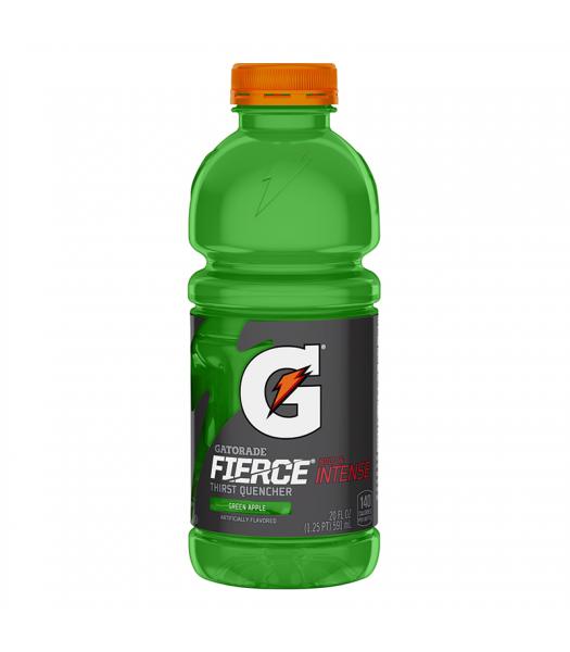 Gatorade Fierce Green Apple 20oz (591ml) Soda and Drinks Gatorade