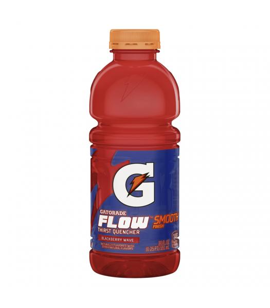 Gatorade Flow Blackberry Wave 20oz (591ml) Regular Soda Gatorade