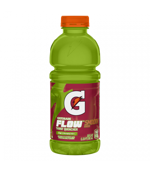 Gatorade Flow Kiwi Strawberry 20oz (591ml) Regular Soda Gatorade