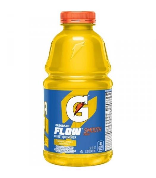 Gatorade Flow Pineapple Mango 32oz (946ml) Soda and Drinks Gatorade