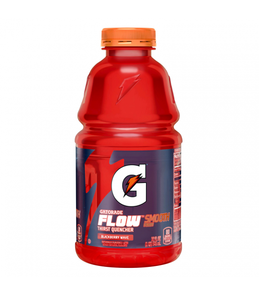 Gatorade Flow Blackberry Wave 32fl.oz (946ml) Regular Soda Gatorade