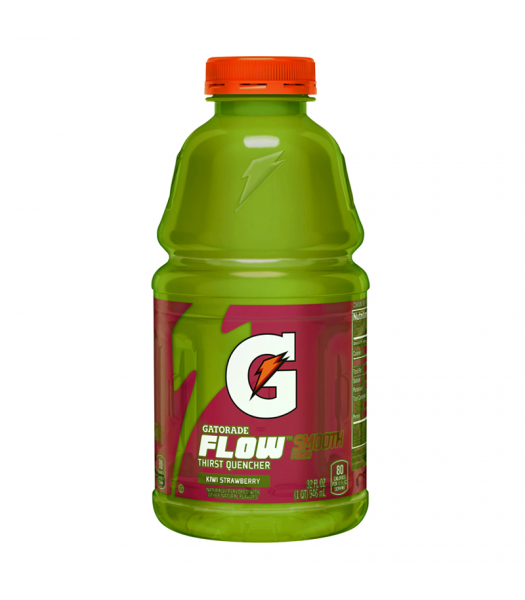Gatorade Flow Kiwi Strawberry 32fl.oz (946ml) Regular Soda Gatorade