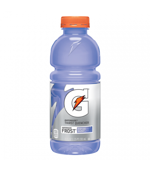 Gatorade Frost Riptide Rush 20oz (591ml) Energy & Sports Drinks Gatorade