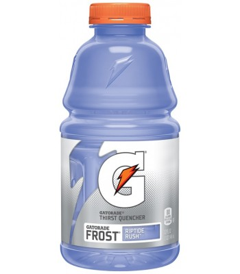 Clearance Special - Gatorade Frost Riptide Rush 32oz (946ml) **DAMAGED** Clearance Zone