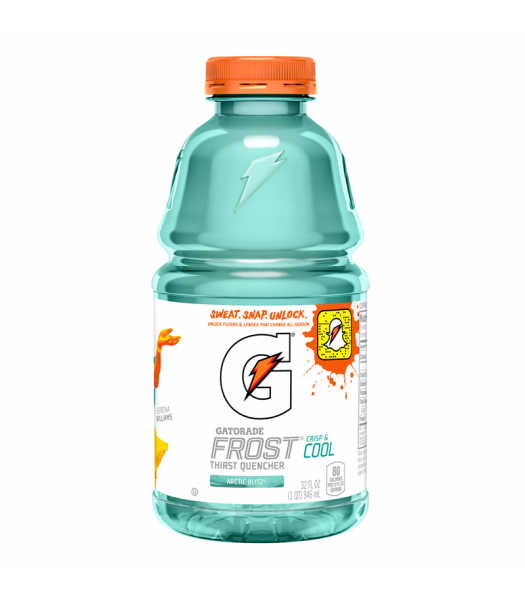 Gatorade Frost Arctic Blitz 32fl.oz (946ml) Regular Soda Gatorade