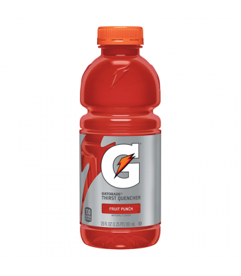 SPECIAL OFFER - Gatorade Fruit Punch 20oz (591ml) - ** BUY 1 GET 1 FREE ** Soda and Drinks Gatorade