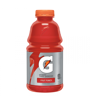SPECIAL OFFER - Gatorade Fruit Punch 32oz (946ml) ** BUY 1 GET 1 FREE ** Soda and Drinks Gatorade