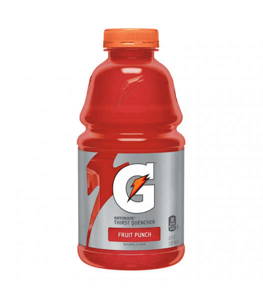 Gatorade Fruit Punch 32oz (946ml)  Energy & Sports Drinks Gatorade