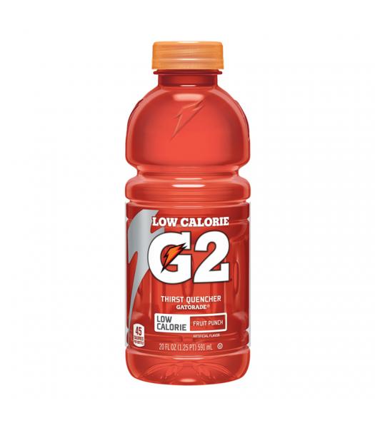 Gatorade G2 Low Calorie Fruit Punch - 20fl.oz (591ml)  Soda and Drinks Gatorade