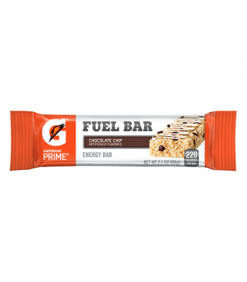 Gatorade Fuel Energy Bar - Chocolate Chip - 2.1oz (60g) Sweets and Candy Gatorade