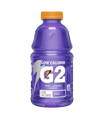 Gatorade G2 Lower Sugar - Grape - 32oz (946ml) Soda and Drinks Gatorade