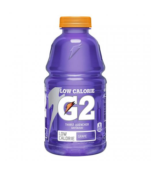 Gatorade G2 Lower Sugar - Grape - 32oz (946ml) Soda and Drinks Gatorade