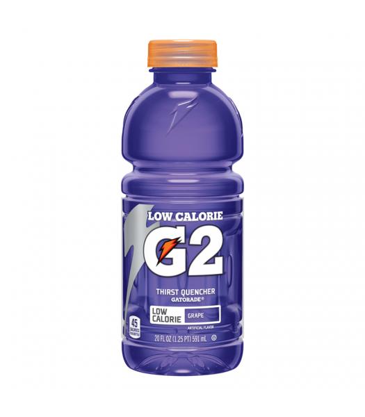 Gatorade G2 Grape 20oz (591ml)  Energy & Sports Drinks Gatorade