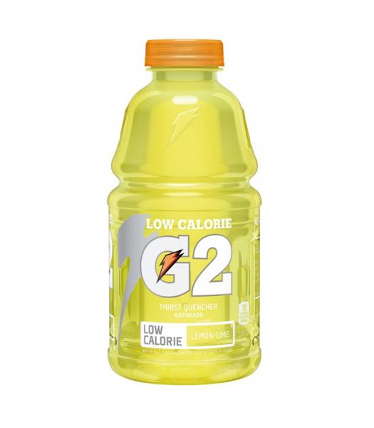 Gatorade G2 Lemon Lime (Low Calorie) - 32fl.oz (946ml) Soda and Drinks Gatorade