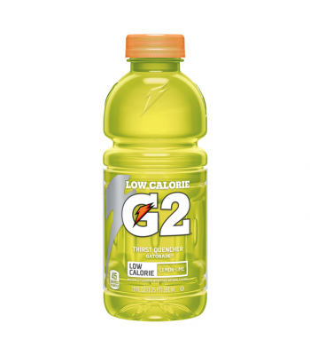 Gatorade G2 Lemon Lime 20oz (591ml) Energy & Sports Drinks Gatorade