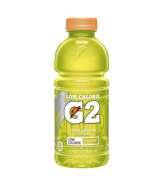 Clearance Special - Gatorade G2 Lemon Lime - 20fl.oz (591ml) **Best Before: 25 December 20** Clearance Zone