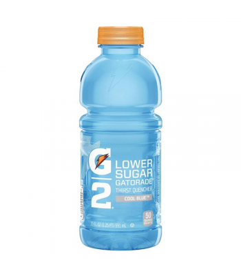 Gatorade G2 Lower Sugar - Cool Blue - 20fl.oz (591ml)  Soda and Drinks Gatorade