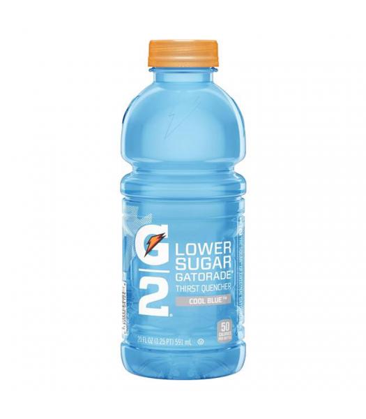 Gatorade G2 Lower Sugar - Cool Blue - 20fl.oz (591ml)  Soda and Drinks Gatorade
