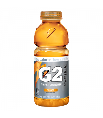 Clearance Special - Gatorade G2 Low Calorie - Orange 20oz (591ml)**Best Before: 15 February 18** Clearance Zone