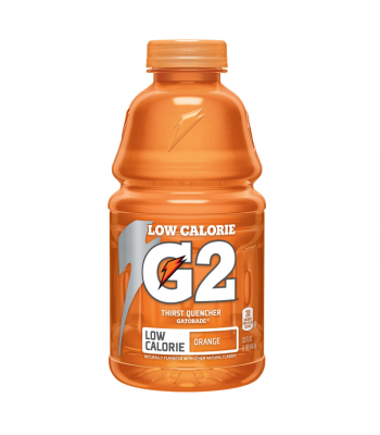 Gatorade G2 Orange (Low Calorie) - 32fl.oz (946ml) Soda and Drinks Gatorade