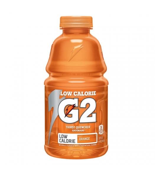 Gatorade G2 Orange (Low Calorie) - 32fl.oz (946ml) Soda and Drinks Gatorade