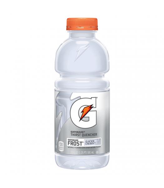 Gatorade Frost Glacier Cherry - 20fl.oz (591ml) Soda and Drinks Gatorade