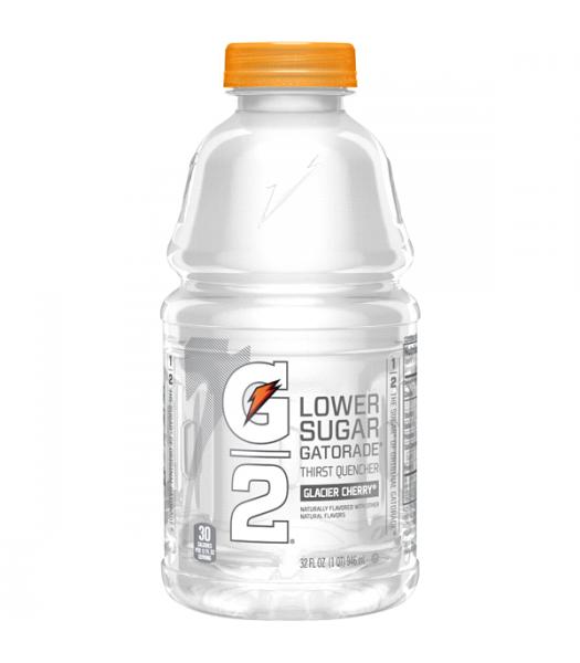 Gatorade G2 Lower Sugar - Glacier Cherry - 32fl.oz (946ml)  Soda and Drinks Gatorade