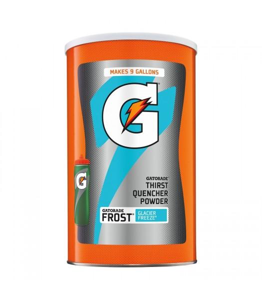 Gatorade Frost Glacier Freeze Powder Drink Mix 76oz (makes 9 gallons) Drink Mixes Gatorade