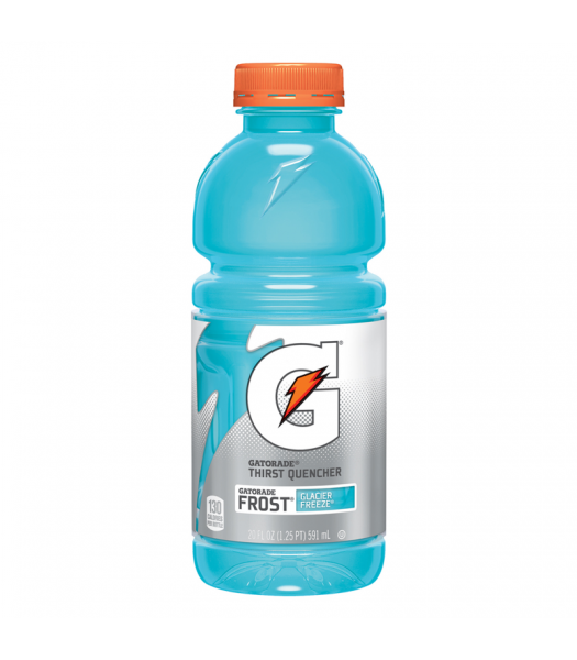 Gatorade Frost Glacier Freeze - 20fl.oz (591ml) Soda and Drinks Gatorade