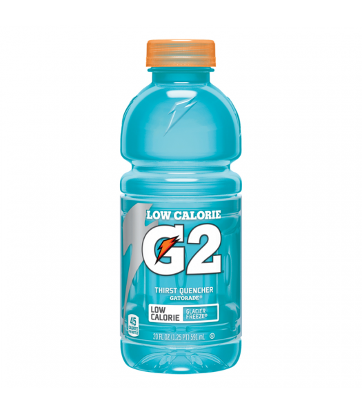 Gatorade G2 Low Calorie Glacier Freeze 20oz (591ml)  Energy & Sports Drinks Gatorade