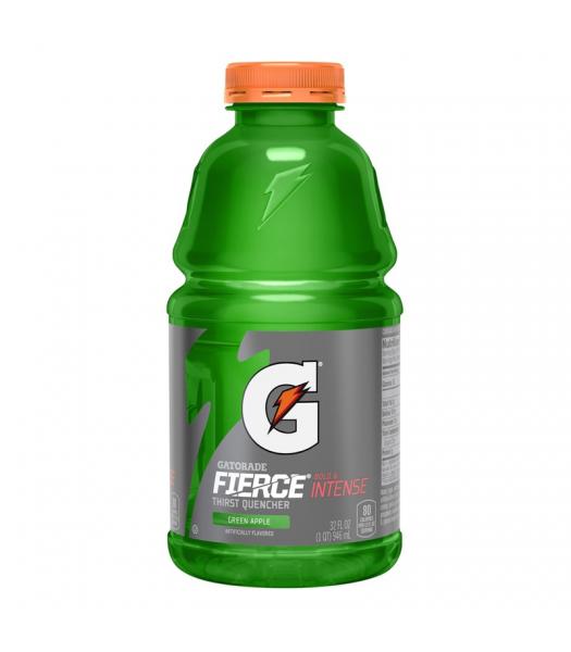 Gatorade Fierce Green Apple 32oz (946ml) Energy & Sports Drinks Gatorade