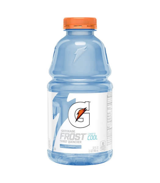 Gatorade Frost Icy Charge 32oz (946ml) Energy & Sports Drinks Gatorade